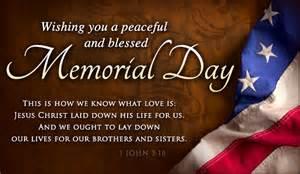 memorial day Jesus