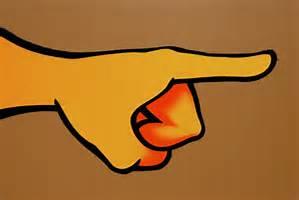 blame pointing finger