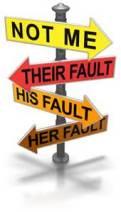 blame road signs