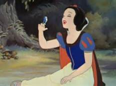 snow-white-and-bird