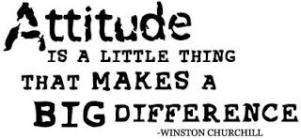 attitude - Churchill