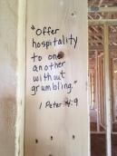 scripture offer hospitality