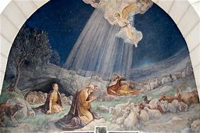 shepherds and angel