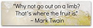 out on limb-mark twain