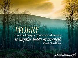 worry corrie ten boom
