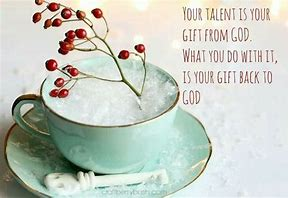 gifts back to god