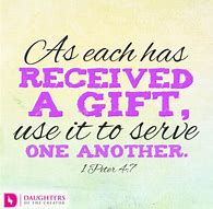 gifts used for others