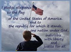 Pledge of allegiance boy
